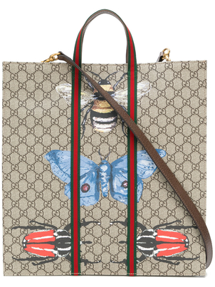 Gucci Bestiary Tote with Strap Bags