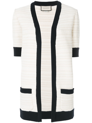 Gucci Knitted White Cardigan