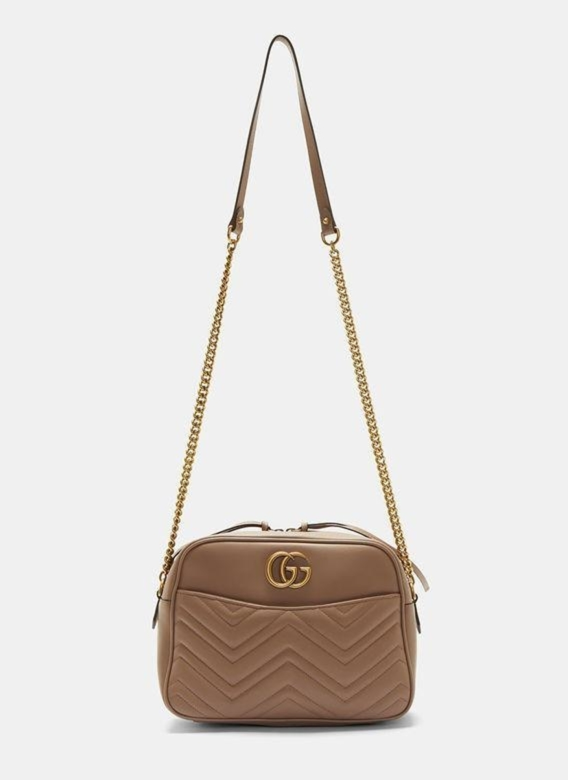 5d002c21f99 Gucci Gucci GG Marmont Matelassé Medium Shoulder Bag Bags