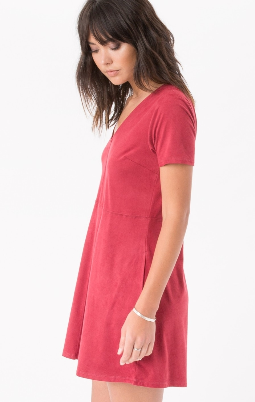 Z Supply Suede Shift Dress Dresses