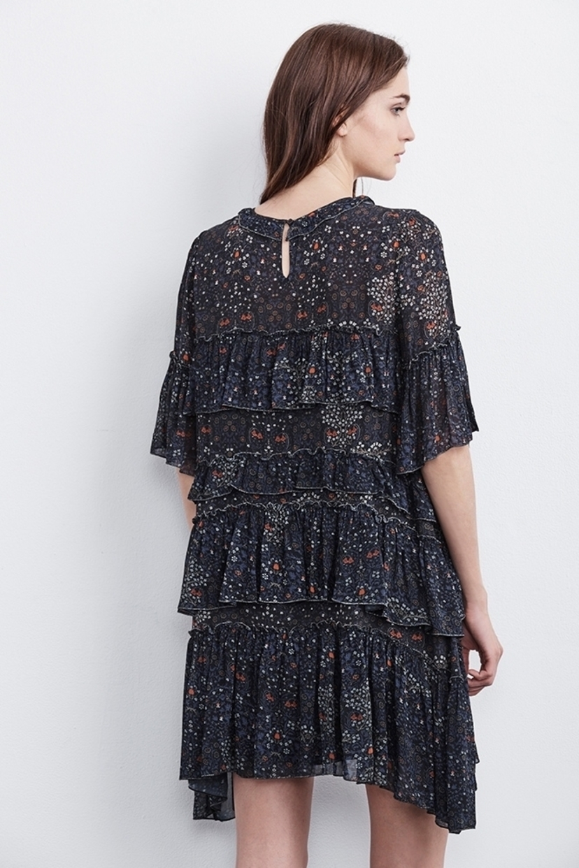 Velvet Lulu Floral Dress Dresses