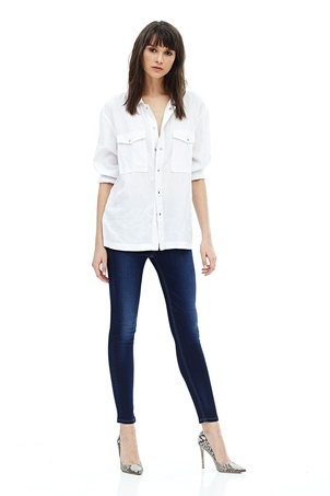 Hudson Barbara High Rise Skinny Jean Pants