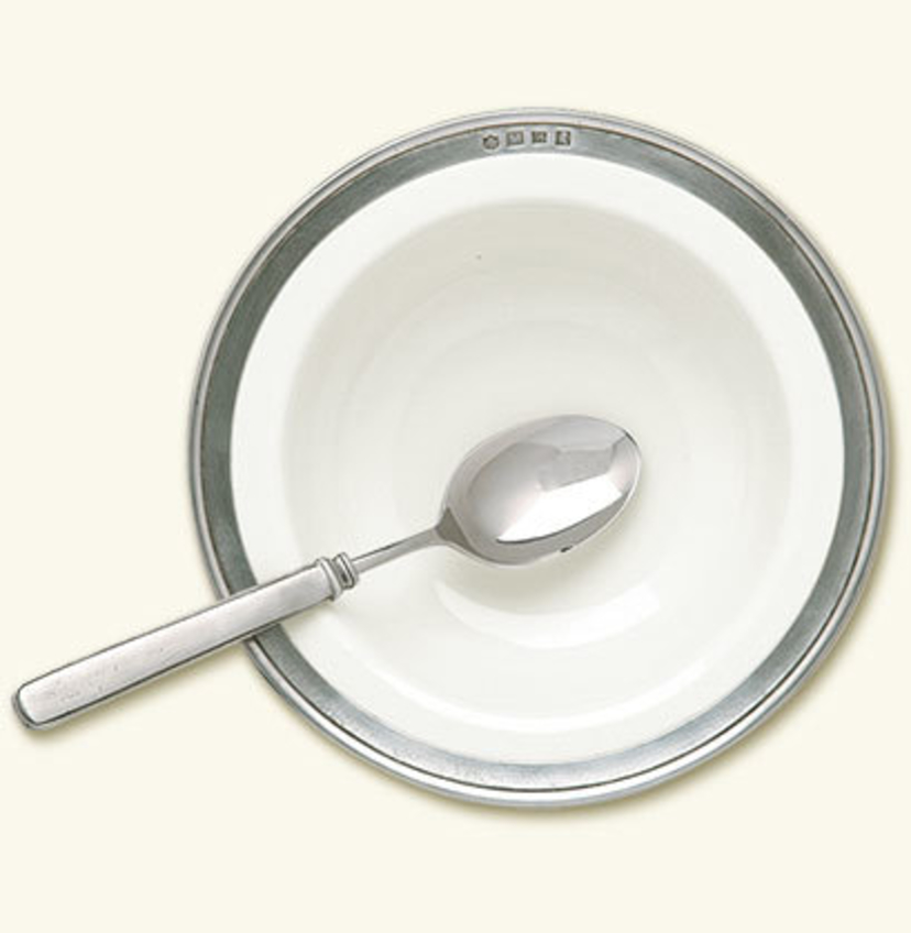 MATCH Pewter Convivio Cereal Bowl Gifts