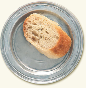 MATCH Pewter Narrow Rim Bread Plate Gifts