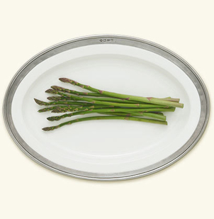 MATCH Pewter Convivio Oval Small Serving Platter Gifts