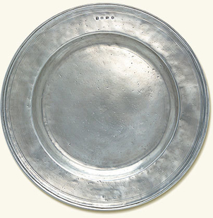MATCH Pewter Round Platter, Large Gifts
