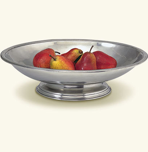 MATCH Pewter Oval Footed Centerpiece Gifts