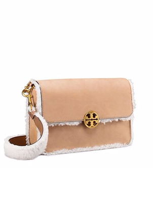 Tory Burch Tory Burch Chelsea Shearling Shoulder Bag Bags