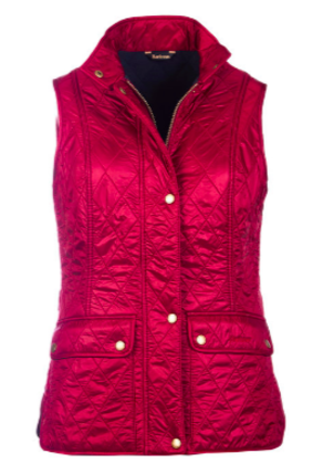 Barbour Wray Carmine Quilted Vest Outerwear