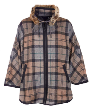 Barbour Portree Wool Cape Outerwear