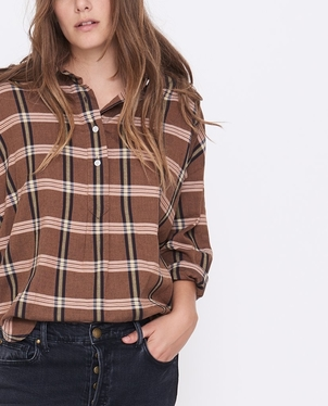 The Great. The Pull Over Shirt Tops