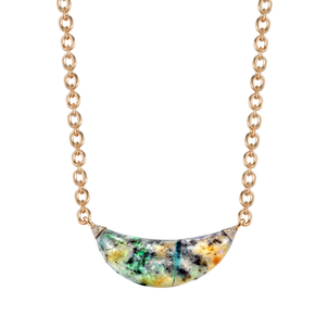 Irene Neuwirth Curved Opal Necklace Jewelry