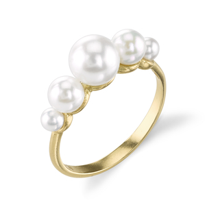 Irene Neuwirth 18K Yellow Gold Pearl Ring Jewelry