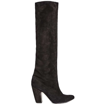 Ulla Johnson Ulla Johnson Sloane Boot in Noir Suede Shoes