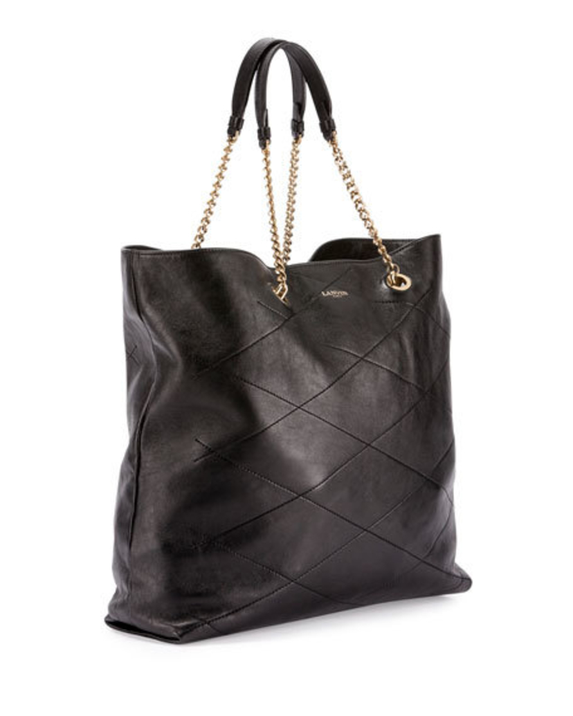 Lanvin Lanvin Quilted Sugar Tote - Black Bags