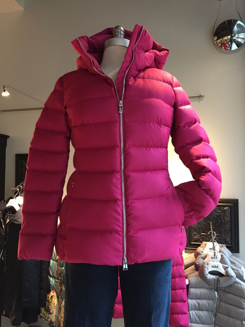 add ADD Pink Down Jacket Outerwear