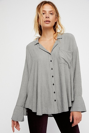 Free People Magic Breeze Buttondown Tops