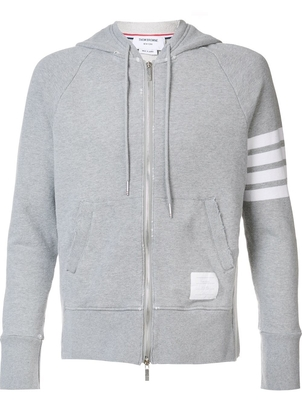 Thom Browne THOM BROWNE 4 BAR HOODIE Men's