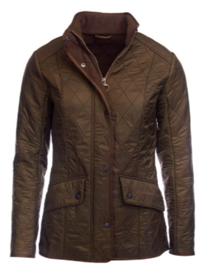 Barbour Cavalry Polarquilt Dark Olive Jacket Outerwear