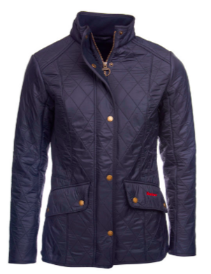 Barbour Cavalry Polarquilt Navy Jacket Outerwear
