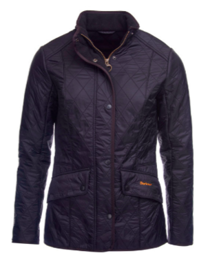 Barbour Cavalry Polarquilt Black Jacket