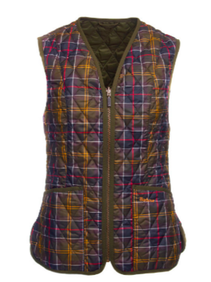Barbour Tartan Betty Liner/Vest