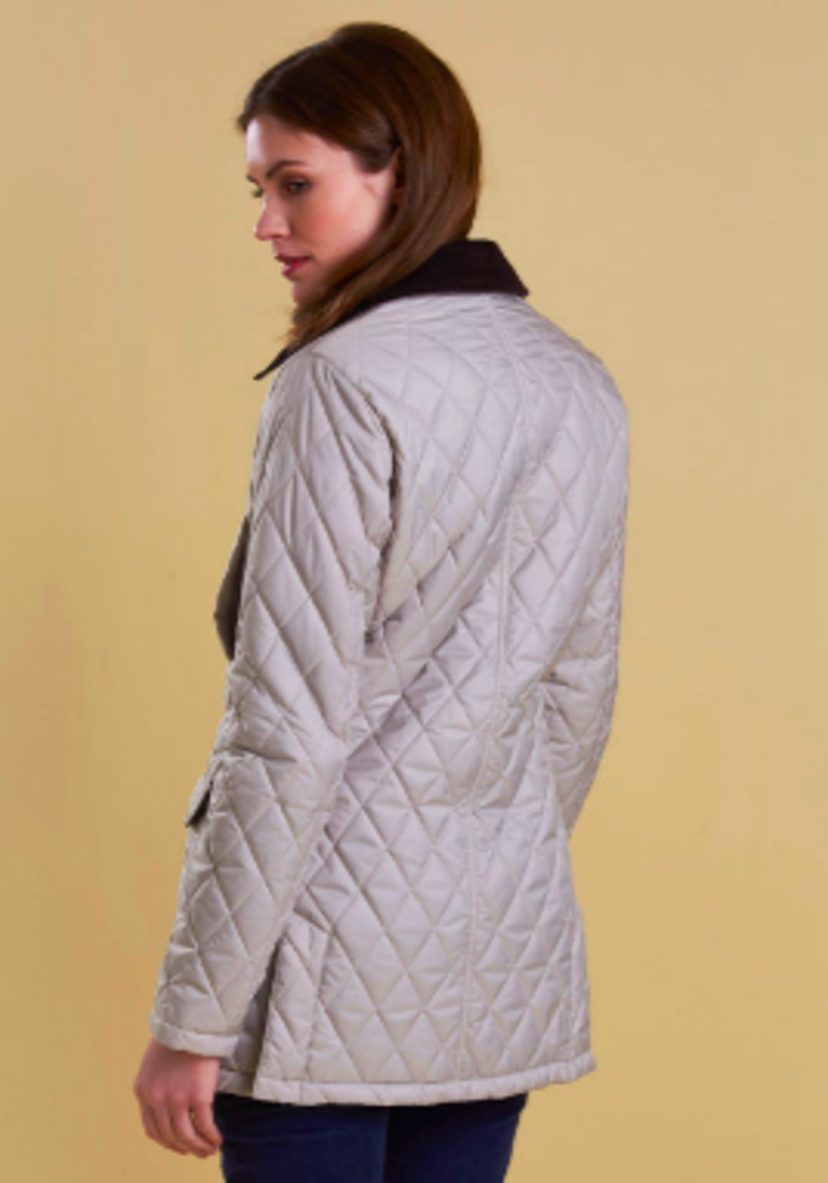 Barbour Barrowdale Quilted Mist Jacket