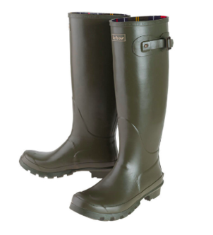 Barbour Bede Olive Wellingtons