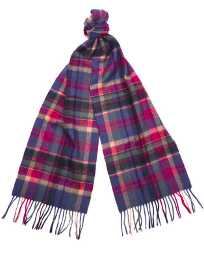 Barbour Vintage Winter Plaid Scarf