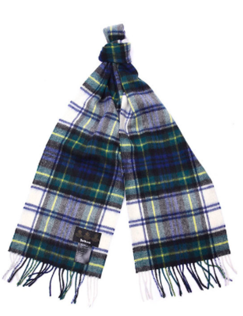 Barbour Shilhope Check Green/Navy Scarf