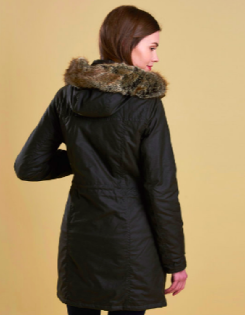 Barbour Helsby Wax Parka