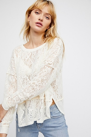 Free People Not Cold in This Top Tops