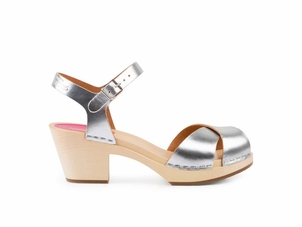 Swedish Hasbeens Mirja in Silver (Originally $239) Gifts Sale Shoes