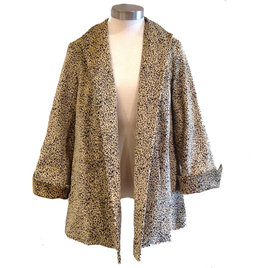 Estelle & Flinn Short Swing Jacket in Leopard
