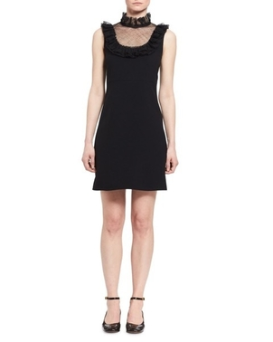 Chloé Chloè Black Sleeveless Dress Dresses