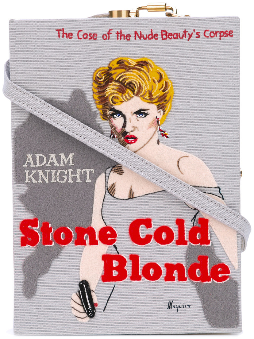 Olympia Le-Tan Stone Cold Blonde Book Clutch Bags