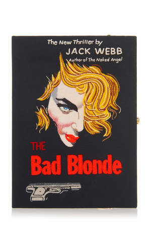 Olympia Le-Tan The Bad Blonde Book Clutch Bags
