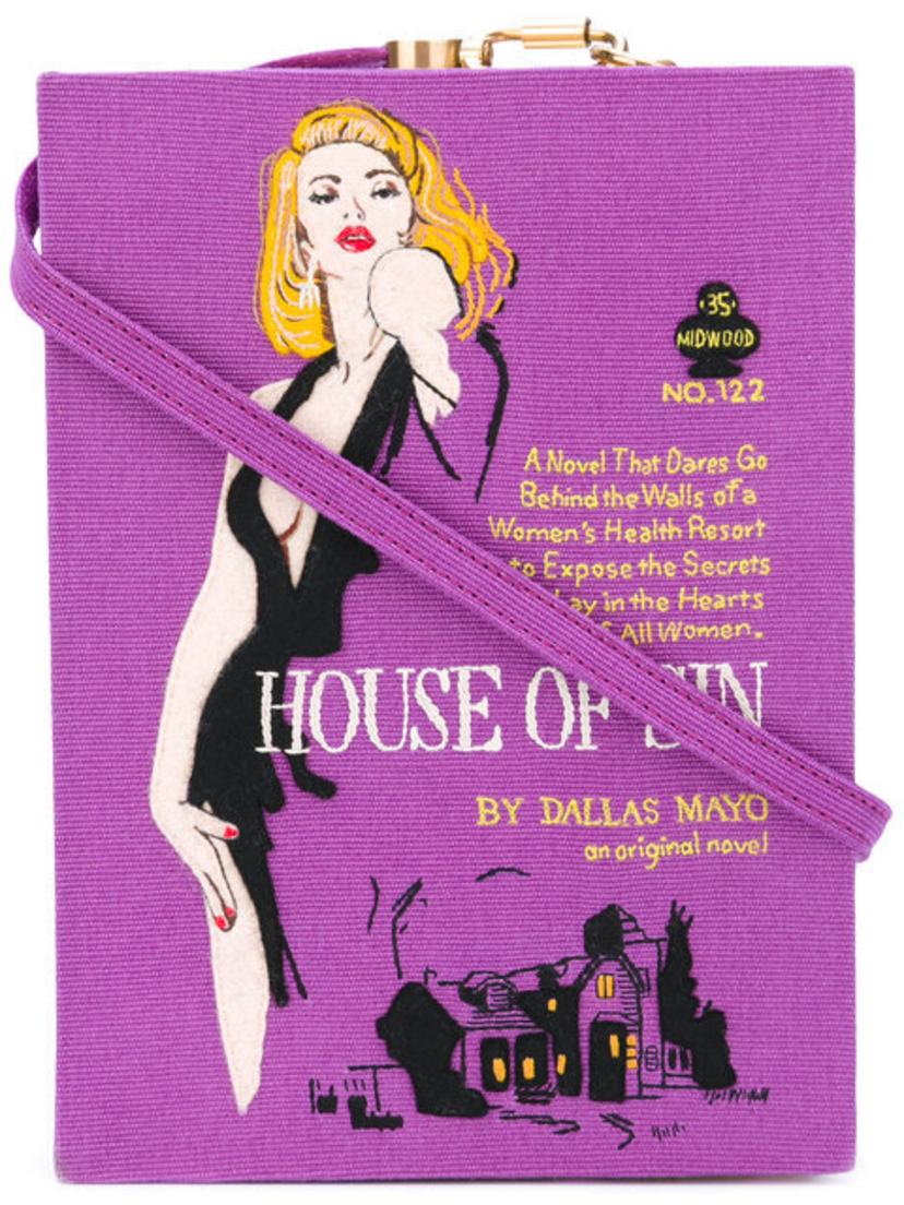 Olympia Le-Tan House of Sin Book Clutch Bags