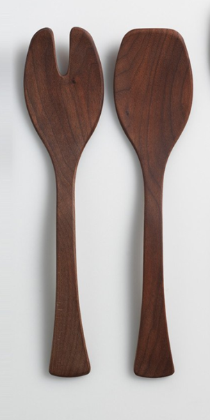 Andrew Pearce Black Walnut Salad Server Gifts