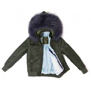Mr. & Mrs. Italy London Green/Blue Bomber Outerwear