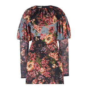 Emilia Wickstead Lavinia Tapestry Bloom Dress Dresses