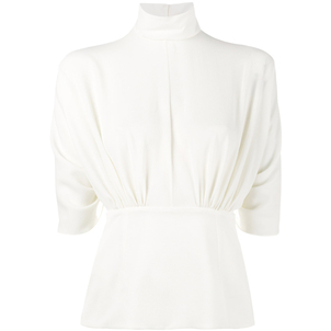 Emilia Wickstead Ivory Gee Gee Top Tops