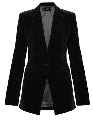 Theory Theory Power Jacket 2 in Dark Billiard Outerwear