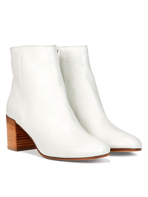 Vince Vince Blakely Bootie in Optic White Shoes