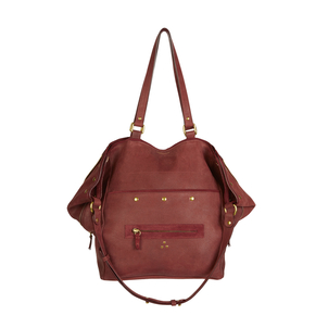 Jerome Dreyfuss Jerome Dreyfuss Serge New Goatskin in Bordeaux Bags