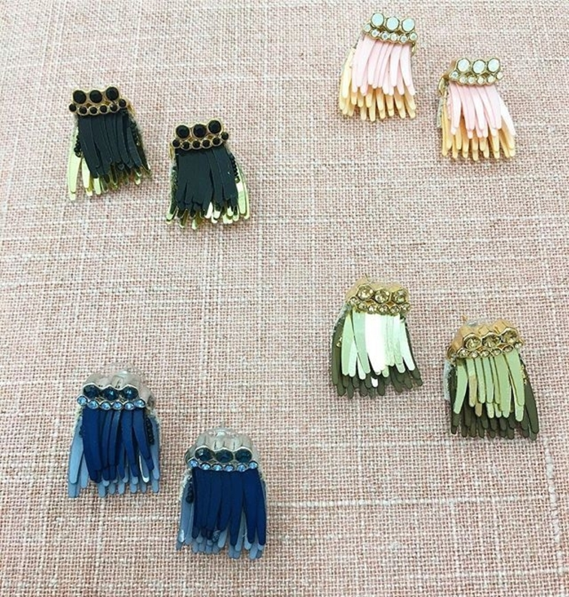 Mignonne Gavigan Luxe Petite Madeline Earrings (More Colors) Jewelry