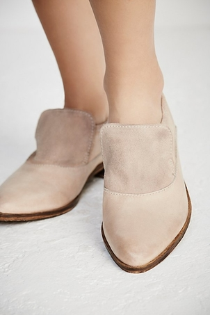 Free People Brady Slip On Loafer in Natural Shoes