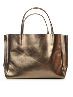 Ampersand As Apostrophe Ampersand As Apostrophe Sideways Tote Sunset Metallic Bags