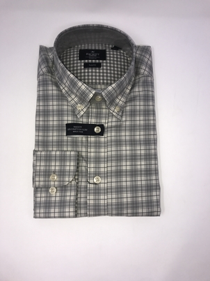 Hackett Melange Check Shirt Tops