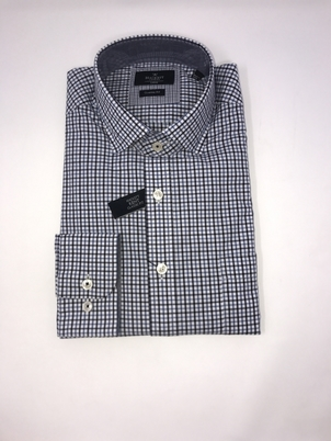Hackett Two Color Gingham Shirt Tops